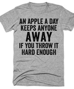 An apple T-Shirt MQ05J0
