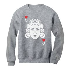 Queen Love Sweatshirt EL5f0