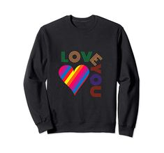 Rainbow Hearts Sweatshirt EL5f0