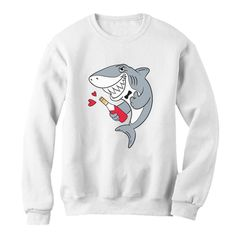 romantic Shark Sweatshirt EL5F0