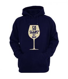 50 Shades Of Red Wine Hoodie LE30M0
