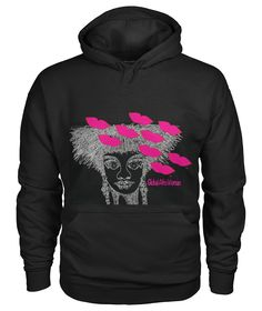 Global Afro Woman Hoodie LE30M0