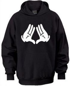 Mickey Mouse Hand Triangle Hoodie LE30M0