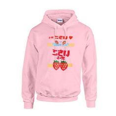 Strawberry Japanese Hoodie LE30M0