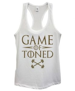 Game of Toned Tank top SP9A0