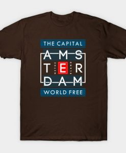 The Capital Amsterdam T-Shirt ND4M0
