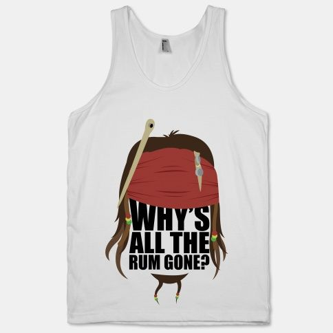 Why's All the Rum Tanktop TY30JN0