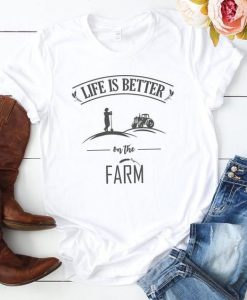 Life is Better T-Shirt SR15JL0