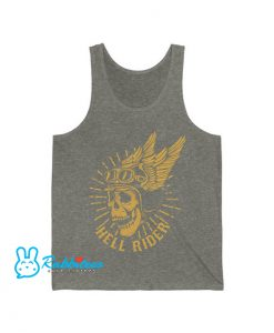 Racer skull in winged Tank Top EL30N0