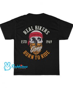 gang-born-ride-with-skull-illustration T-Shirt EL30N0