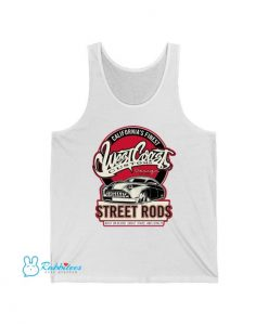 Custom Street Rods Tank Top LE28JN1
