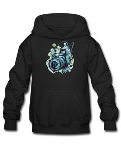 Camera Drawing Hoodie AL19F1