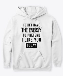 The Energy Hoodie DT8MA1