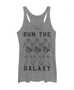 Women's Run the Galaxy Racerback Tank Top PU8MA1